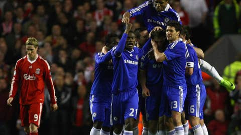 Apr. 8, 2009: Liverpool 1, Chelsea 3