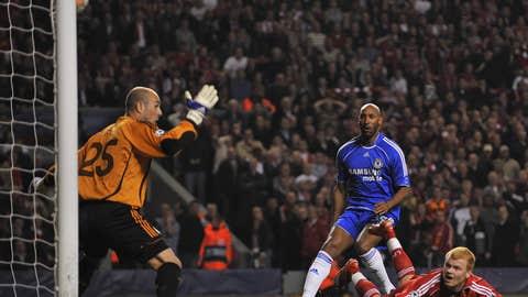 Apr. 22, 2008: Liverpool 1, Chelsea 1