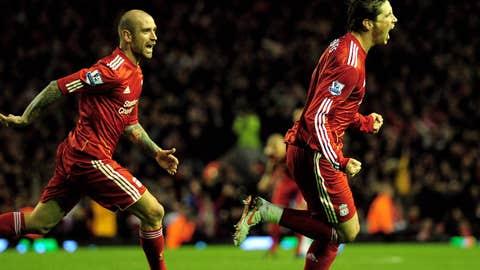 Nov. 7, 2010: Liverpool 2, Chelsea 0