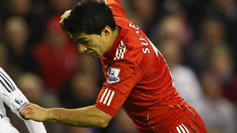 Luis Suarez, F, Liverpool