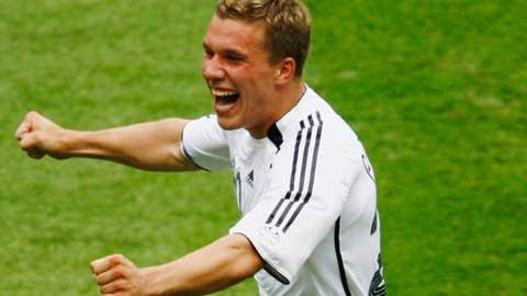 Lukas Podolski, F, FC Koln