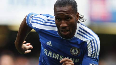 Didier Drogba, F, Chelsea