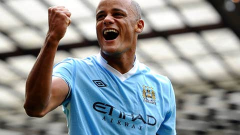 Vincent Kompany, D, City