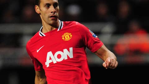 Rio Ferdinand, LCB, Manchester United