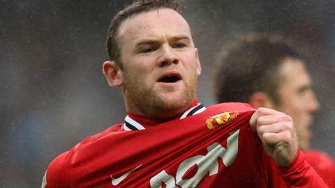 Wayne Rooney, AM/F, Manchester United