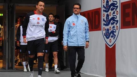 FILE: Fabio Capello Resigns As England Manager