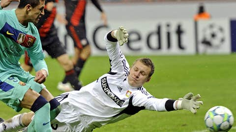 Bernd Leno, D, Bayer Leverkusen