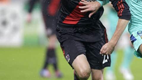 Michal Kadlec, D, Bayer Leverkusen