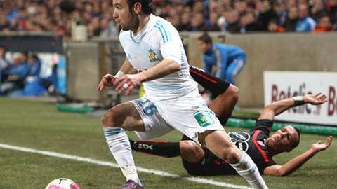 Mathieu Valbuena, AM, Marseille