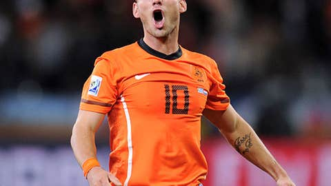Wesley Sneijder, Netherlands