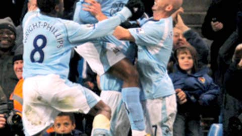 November 22, 2008 - City 3, Arsenal 0