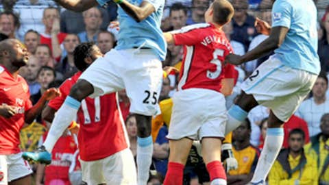September 12, 2009 - City 4, Arsenal 2