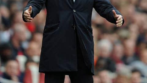 Roberto Mancini, manager, Manchester City