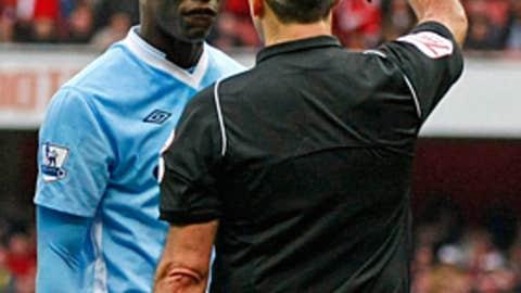 Mario Balotelli, F, Manchester City