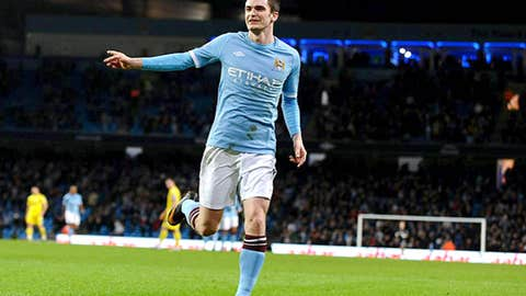 Adam Johnson, W, Manchester City