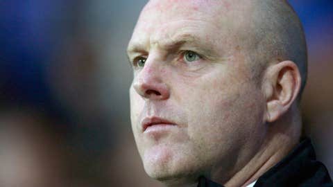 Blackburn Rovers' manager Steve Kean takes to the touchline before his team's 2-0 loss