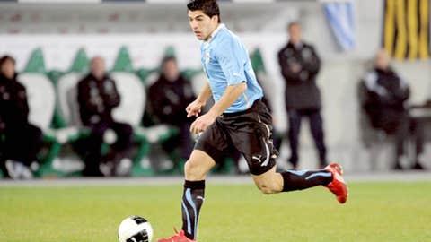 Luis Suarez, F, Manchester City