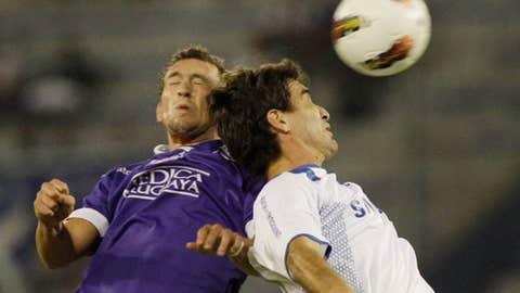 Brahian Aleman & David Ramirez (AP Photo/Eduardo Di Baia)