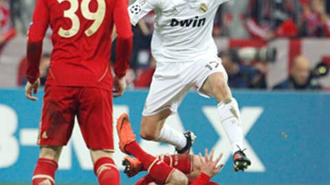 Alvaro Arbeloa, RB, Real Madrid