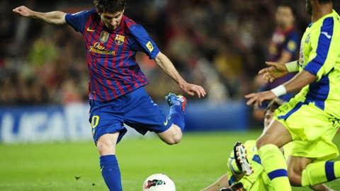 Lionel Messi, F, Barcelona