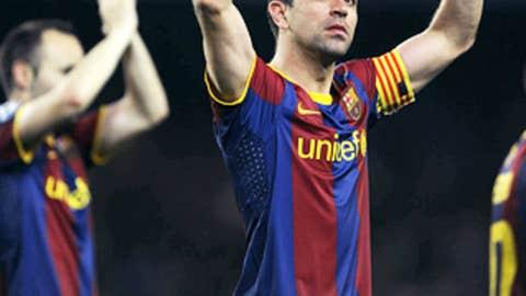 Xavi Hernandez, MF, Barcelona