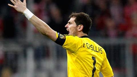 Iker Casillas, GK, Real Madrid