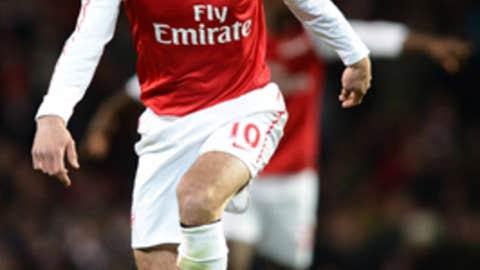 Robin van Persie, F, Arsenal