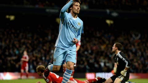 David Silva, M, Manchester City