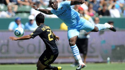 Micah Richards, RB, Manchester City