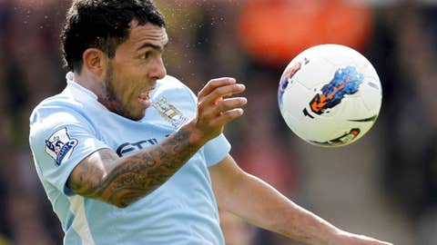 Carlos Tevez, F, City