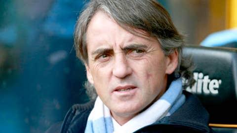 Roberto Mancini, Manager, City