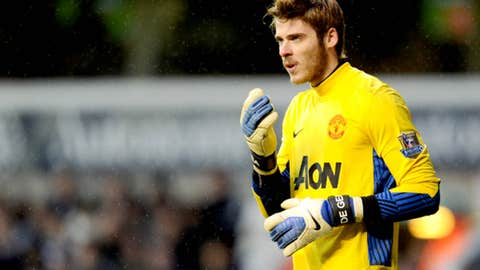 David de Gea, GK, United