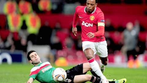 Patrice Evra, LB, United