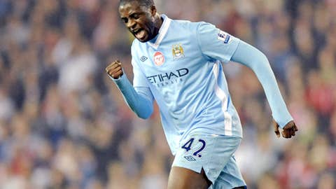 Yaya Toure, MF, City