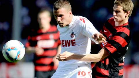 Lukas Podolski, F, Cologne