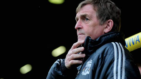 Kenny Dalglish, manager, Liverpool