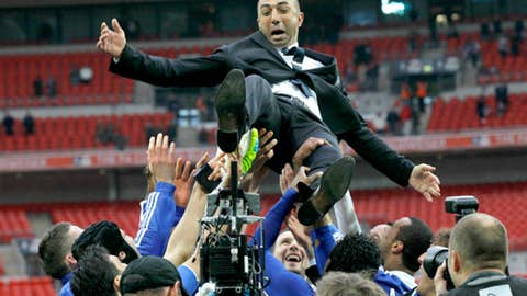Roberto Di Matteo, manager, Chelsea
