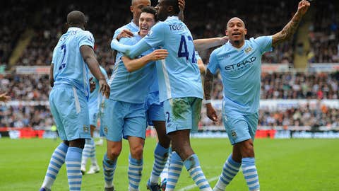 City's 6-1 Victory at Old Trafford