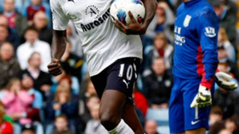 Emmanuel Adebayor, F, Tottenham