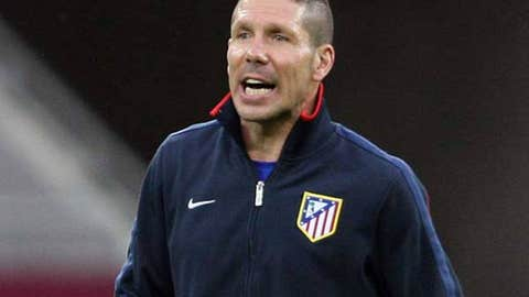 Diego Simeone, manager, Atletico Madrid