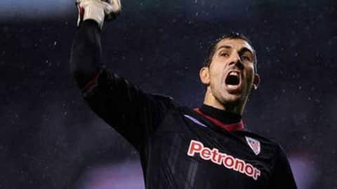 Gorka Iraizoz, GK, Athletic Bilbao