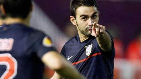 Adrian Lopez, F, Atletico Madrid