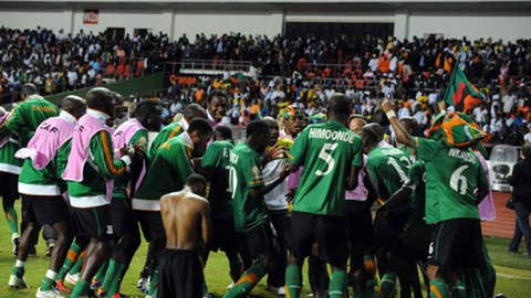 Zambia National Team Victory