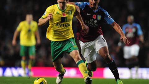 Norwich City vs. Aston Villa, Live on FOXSoccer2Go