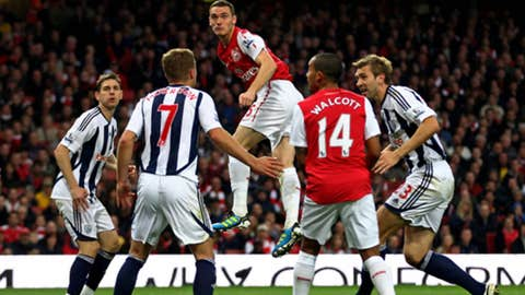 West Brom vs. Arsenal, Live on FOX Sports Net