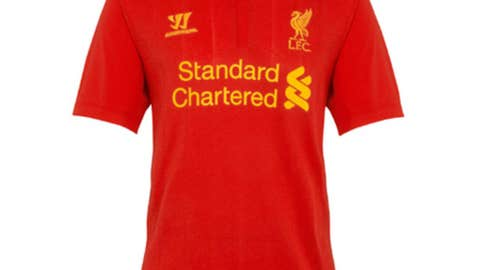 New Liverpool Home Kit 2012-13