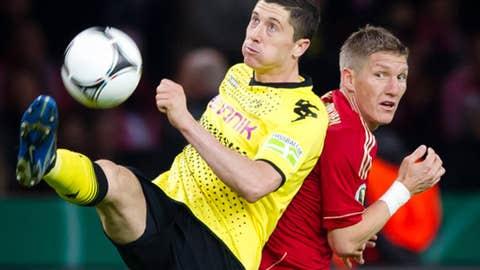 Robert Lewandowski, F Borussia Dortmund
