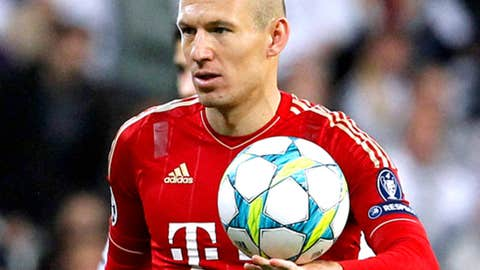 Arjen Robben, M/W, Bayern Munich