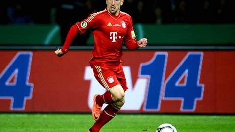 Franck Ribery, M/W, Bayern Munich