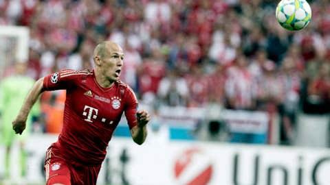 Arjen Robben, M, Bayern Munich